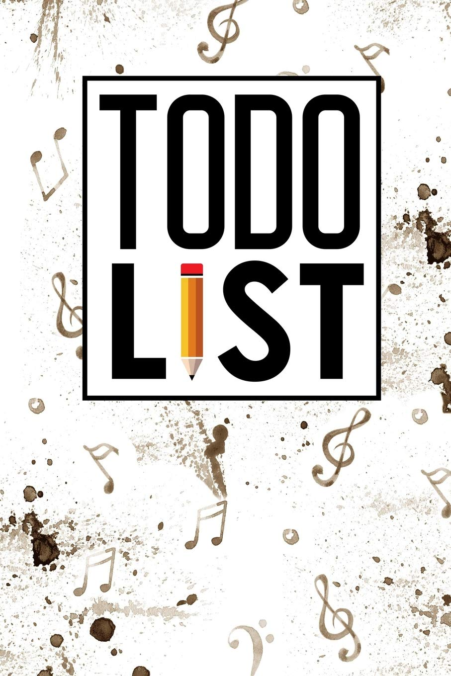 To Do List Notebook: Checklist Blank, To Do And Notes, Daily Task Sheets, To Do List Notebook Kids, Agenda Notepad For Men, Women, Students & Kids, Music Lover Cover (Volume 3)