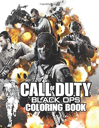 Call of Duty Coloring Book: All that is necessary for evil to succeed is for good men to do nothing | Bring the soldiers alive to fight the evil