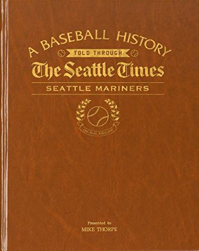 Seattle Mariners Personalized Newspaper Book The Seattle Times Baseball History