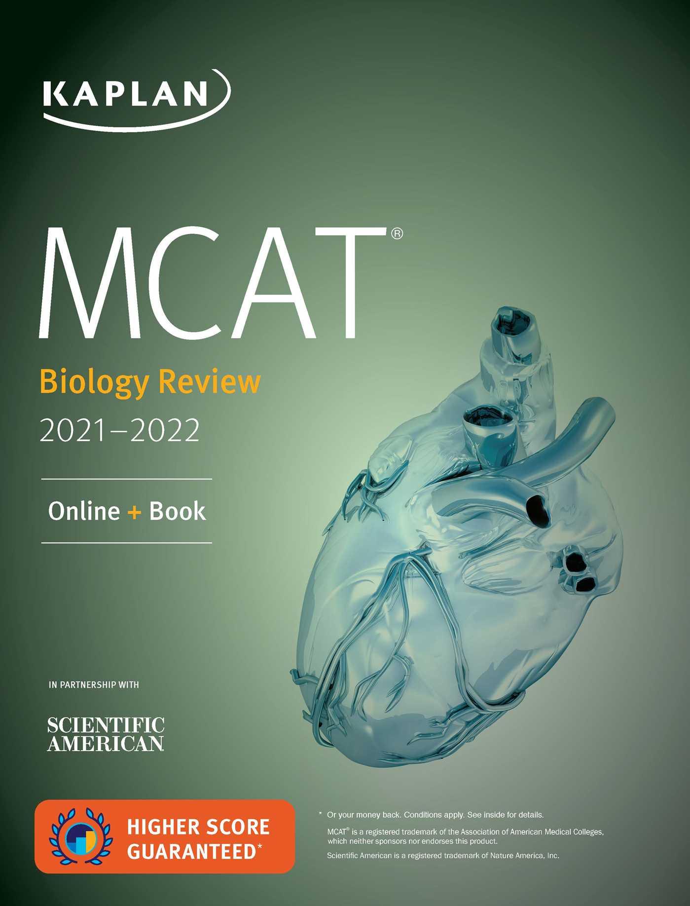 MCAT Biology Review 2021-2022: Online + Book