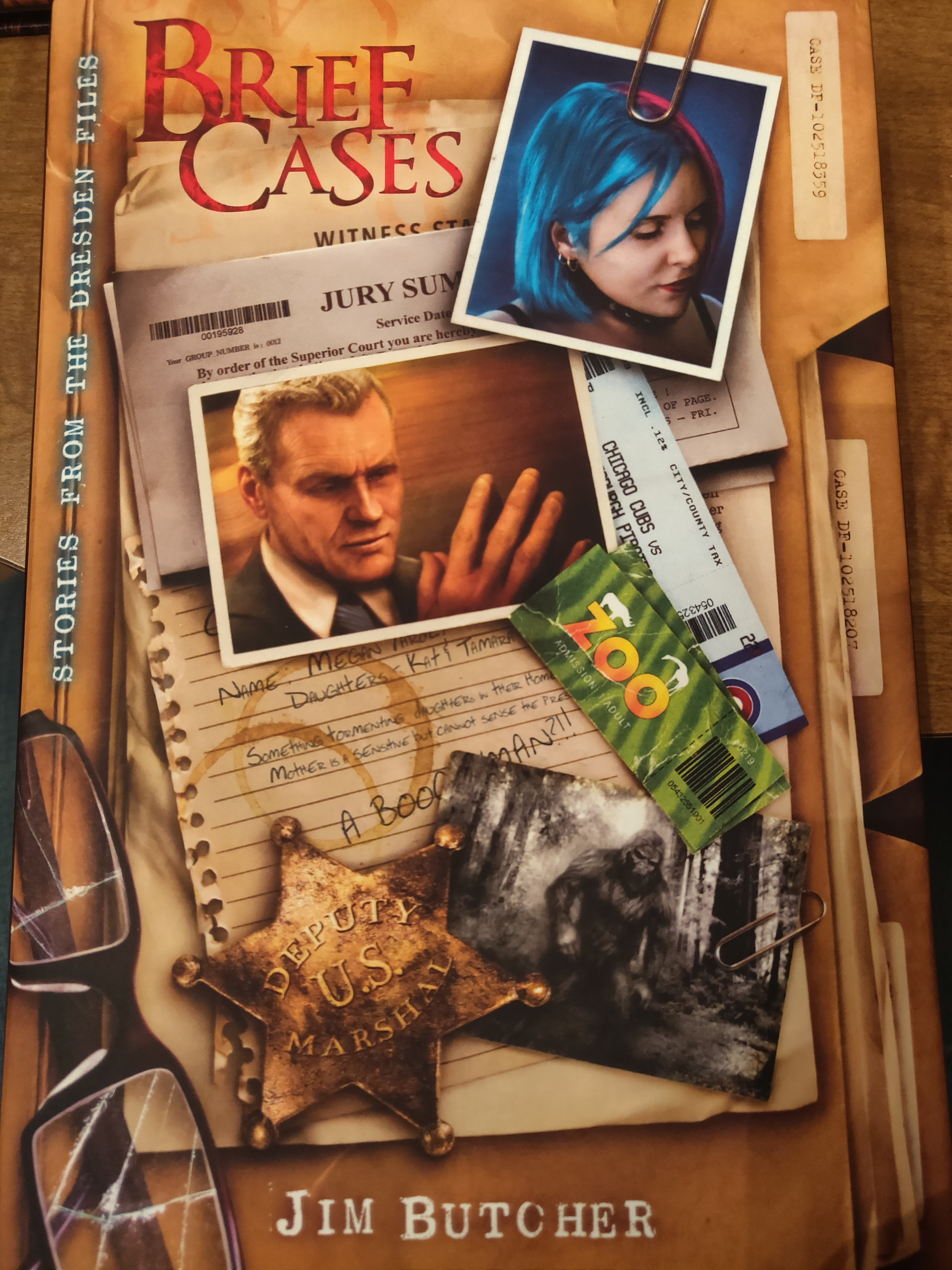 Brief Cases (Dresden Files #15.5) Signed, Limited Edition