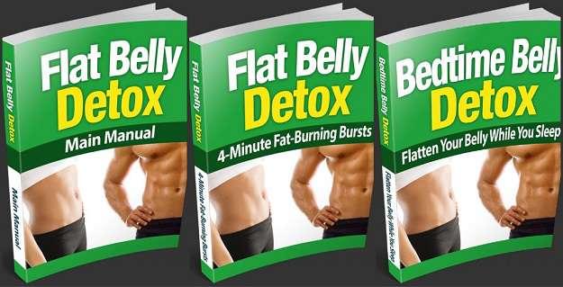 Flat Belly Diet   12-hour Detox Plan