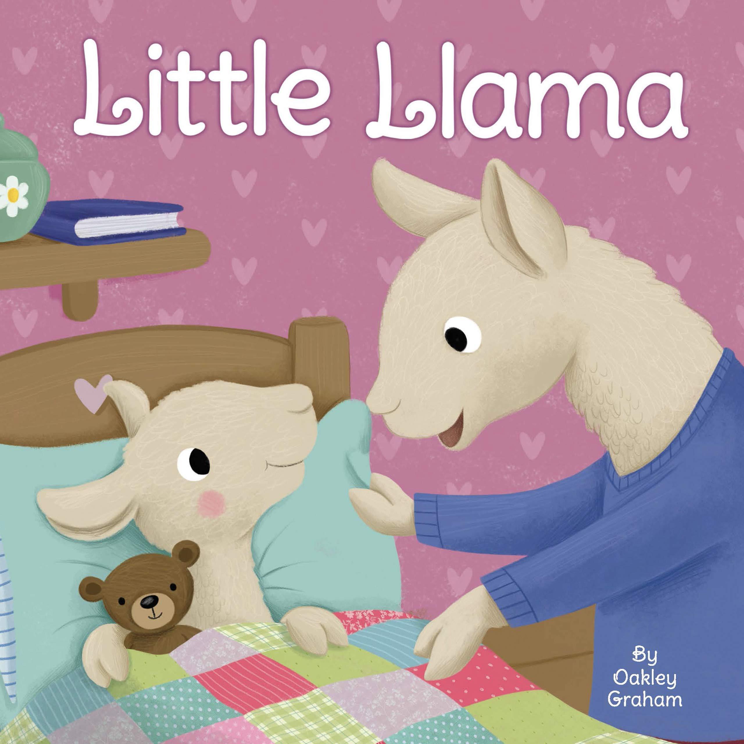 Little Llama - Little Hippo Books - Children's Padded Board Book