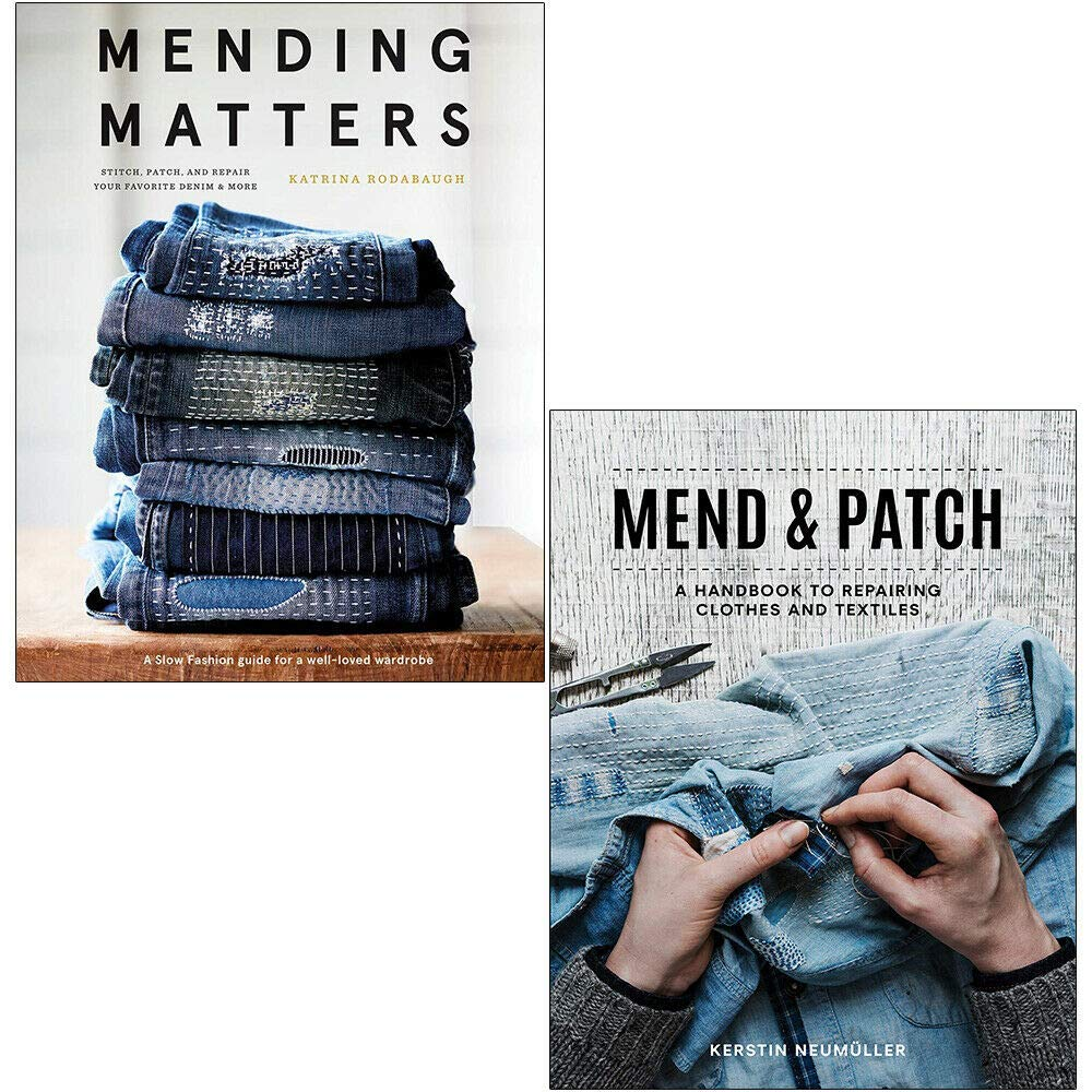 Mending Matters [Hardcover], Mend & Patch 2 Books Collection Set