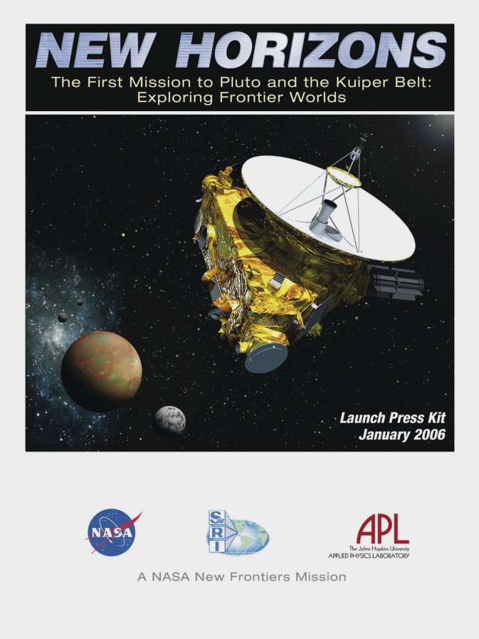 New Horizons Launch Press Kit - Scholar's Choice Edition