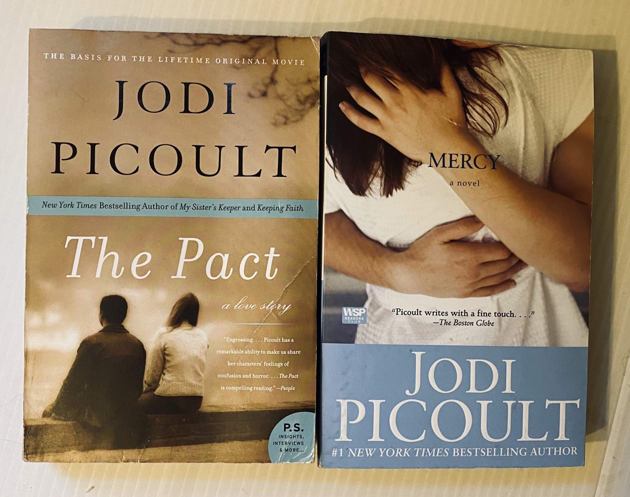 2 Books! 1) The Pact 2) Mercy