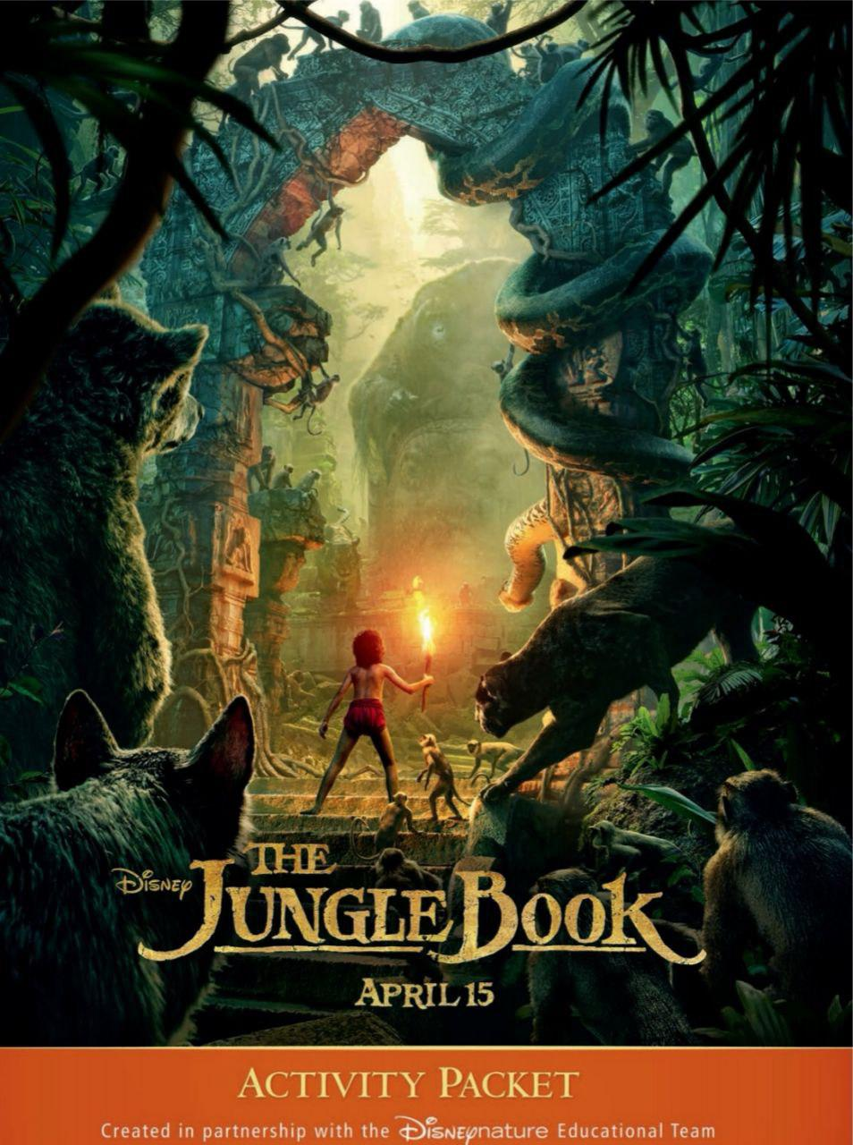 Disneynature: The Jungle Book Activity Book