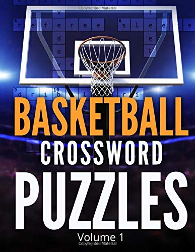 Basketball Crossword Puzzles (Volume 1): Trivia Puzzle Book for Adults and Seniors