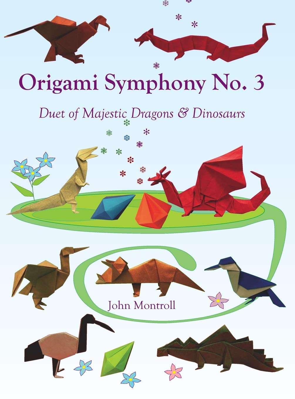 Origami Symphony No. 3: Duet of Majestic Dragons & Dinosaurs