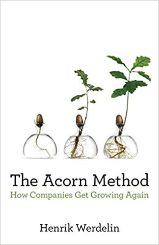 The Acorn Method: How Companies Get Growing Again