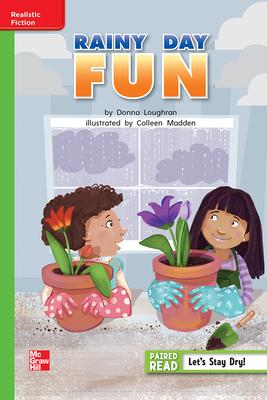 Reading Wonders Leveled Reader Rainy Day Fun: Beyond Unit 6 Week 3 Grade 1