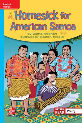 Reading Wonders Leveled Reader Homesick for American Samoa: On-Level Unit 6 Week 5 Grade 4