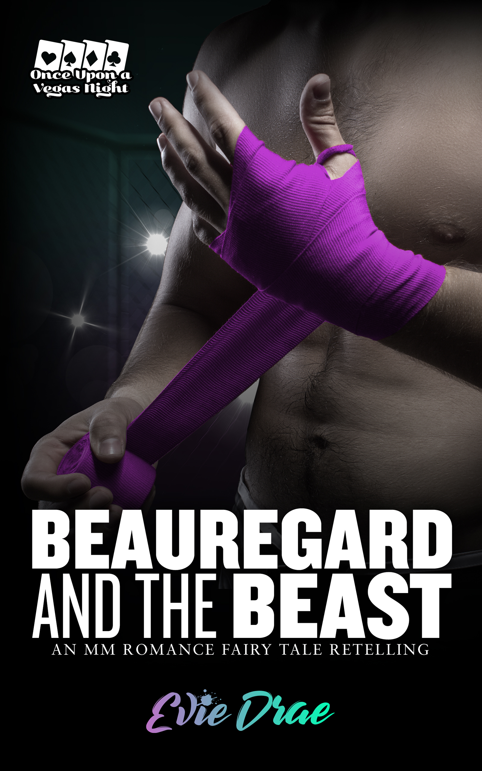 Beauregard and the Beast: An MM Romance Fairy Tale Retelling (Once Upon a Vegas Night, #1)