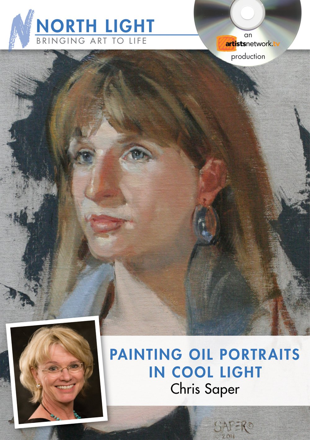 Painting Oil Portraits in Cool Light with Chris Saper