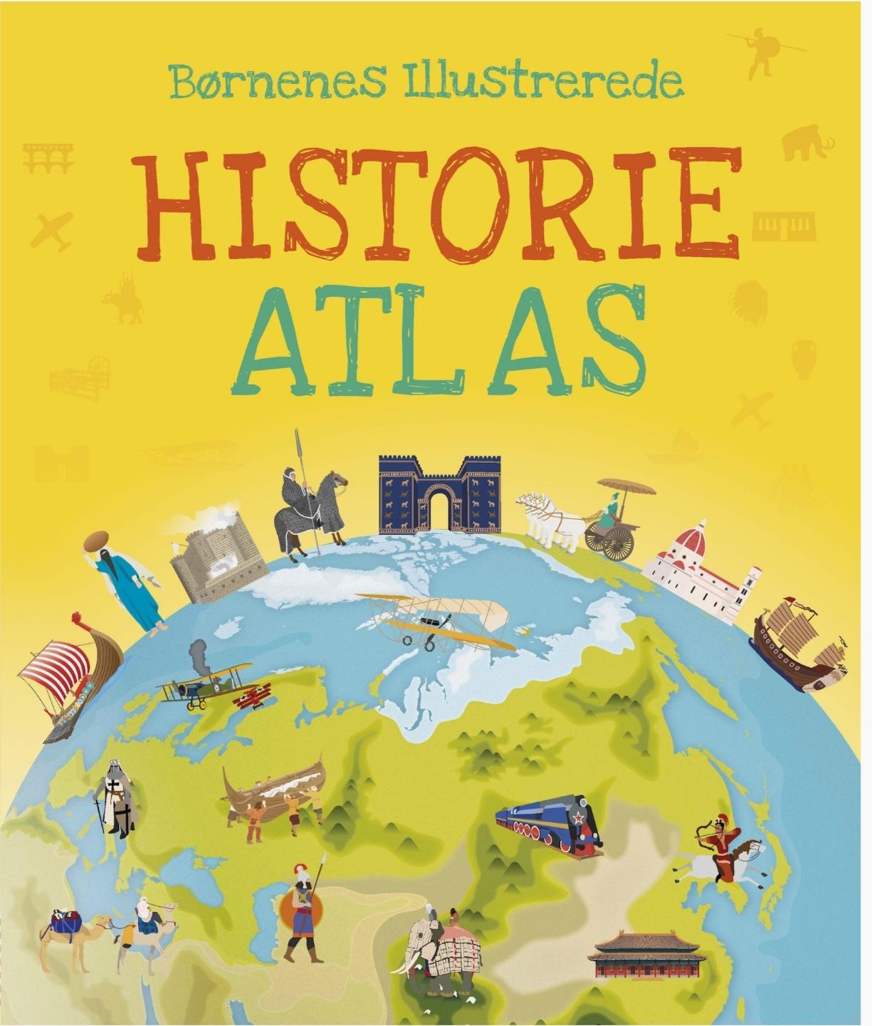 Børnenes illustrerede historie atlas