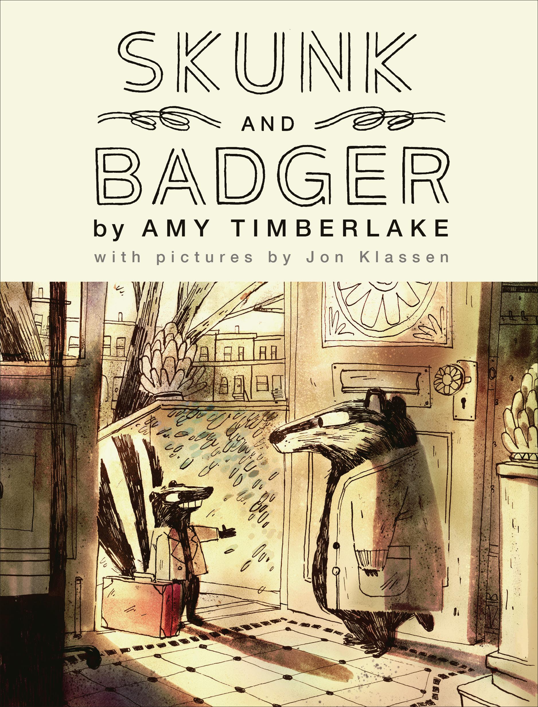 Skunk and Badger (Skunk and Badger, #1)