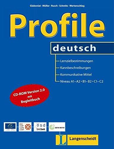 Profile deutsch A1-C2 libro con CD-ROM
