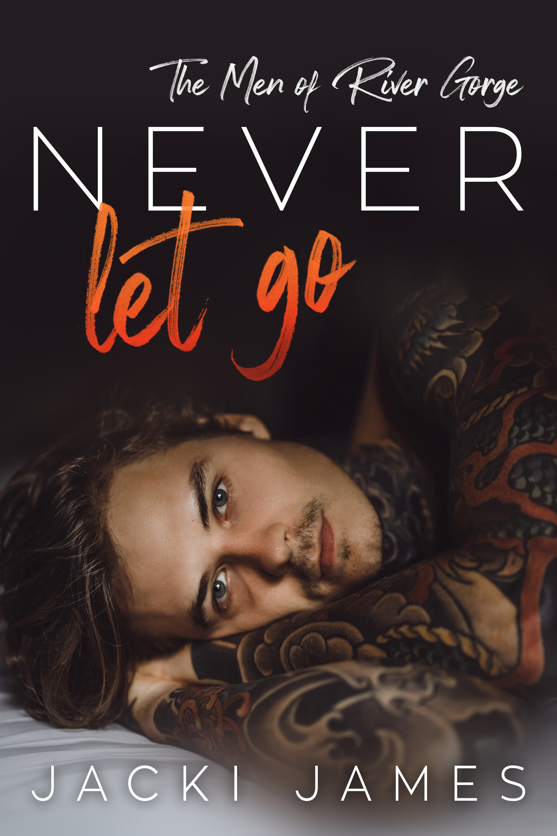 Never Let Go (The Men of River Gorge, #3)