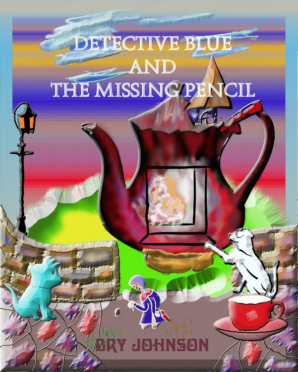 Detective Blue and The Missing Pencil: kids fairytale books, bookshelf, Valentine's day books, kids comic books, Goodreads give aways, free Kindle books, Kindle page turners, new releases 2021, Goodreads groups, Kindle unlimited, Kindle countdown deals