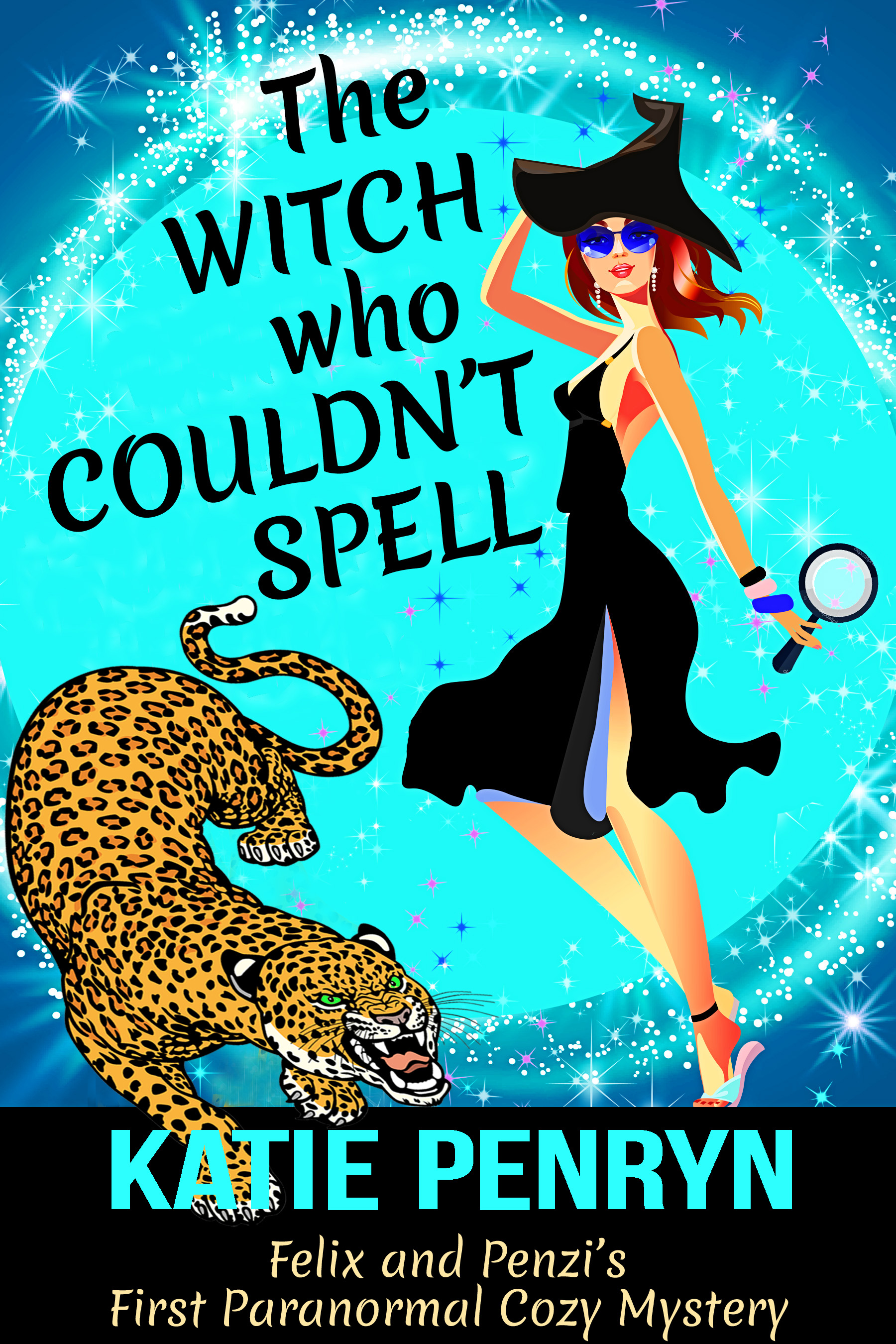 The Witch who Couldn't Spell (Mpenzi Munro Mysteries, #1)