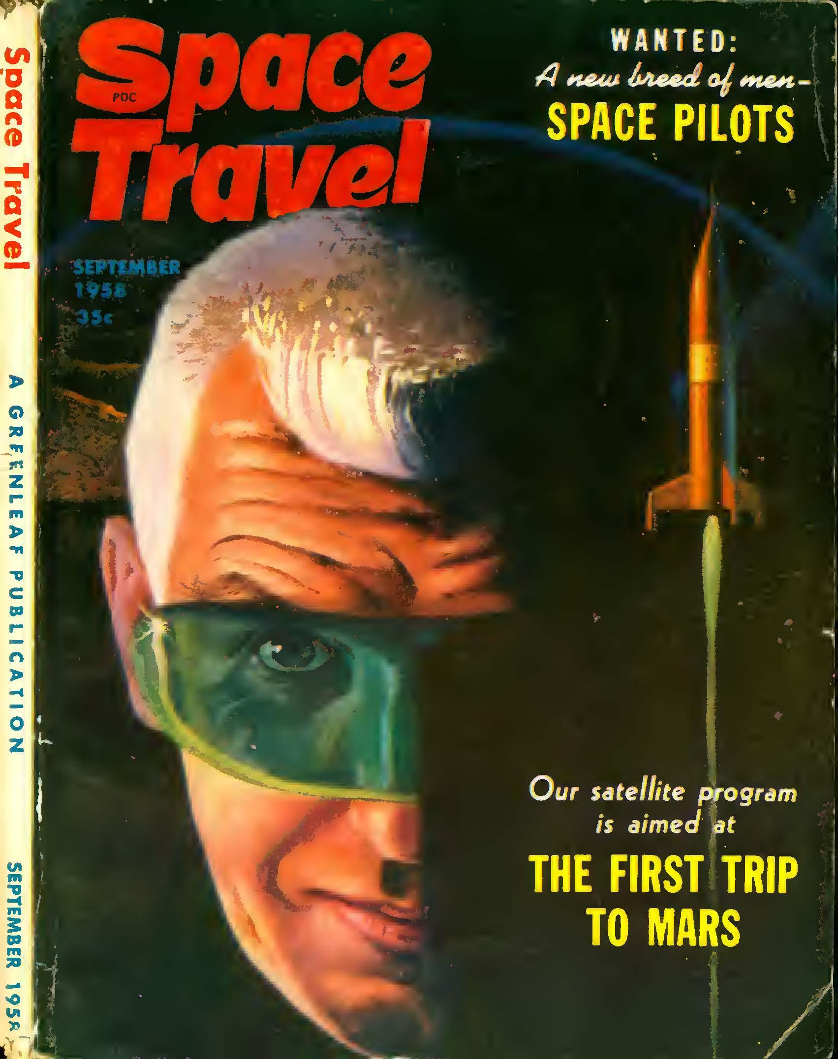 Space Travel, September 1958 (Volume 5, No. 5)