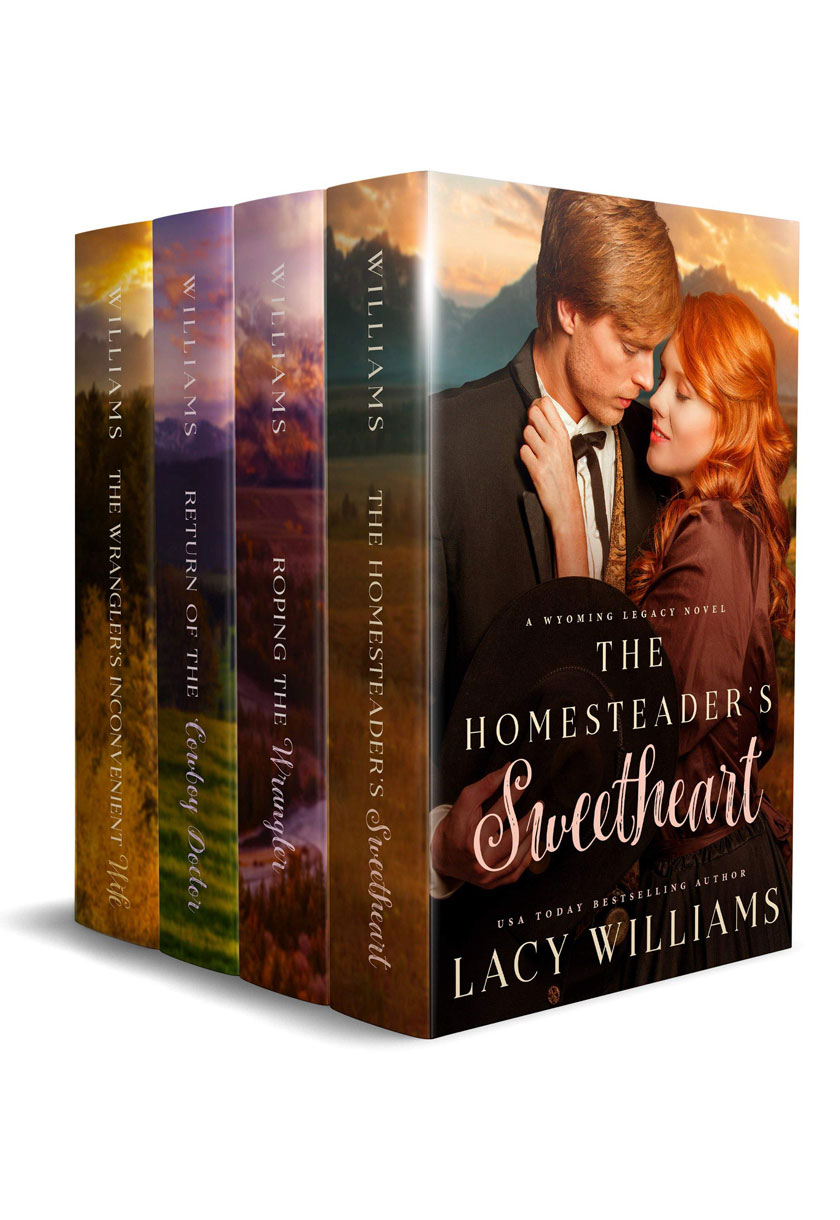 Wyoming Legacy Boxed Set: Volumes 1-4