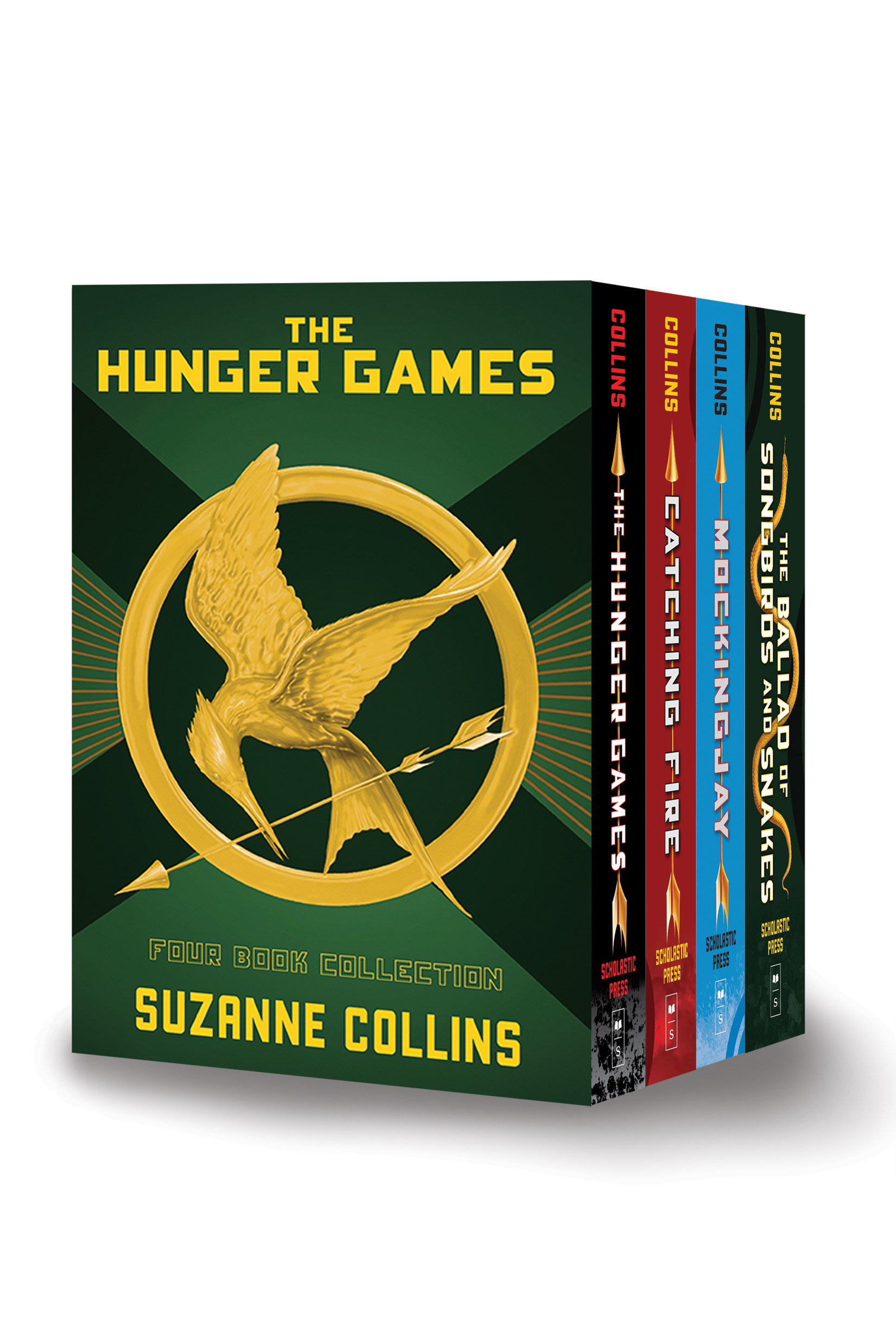 Hunger Games 4-book Hardcover Box Set