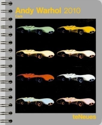 2010 Andy Warhol Cars Deluxe Engagement Calendar