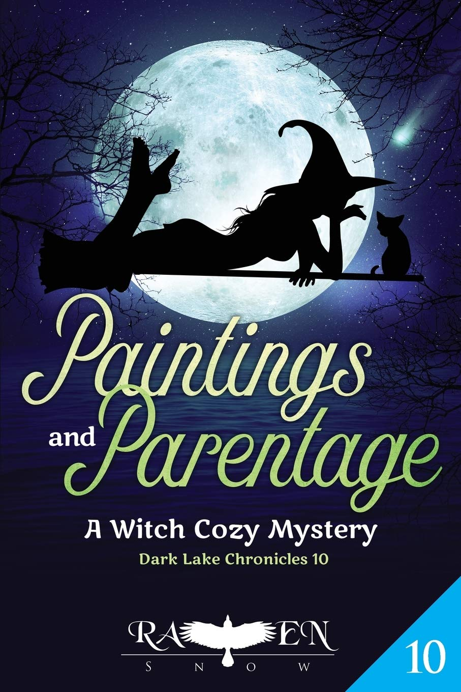 Paintings and Parentage: A Witch Cozy Mystery