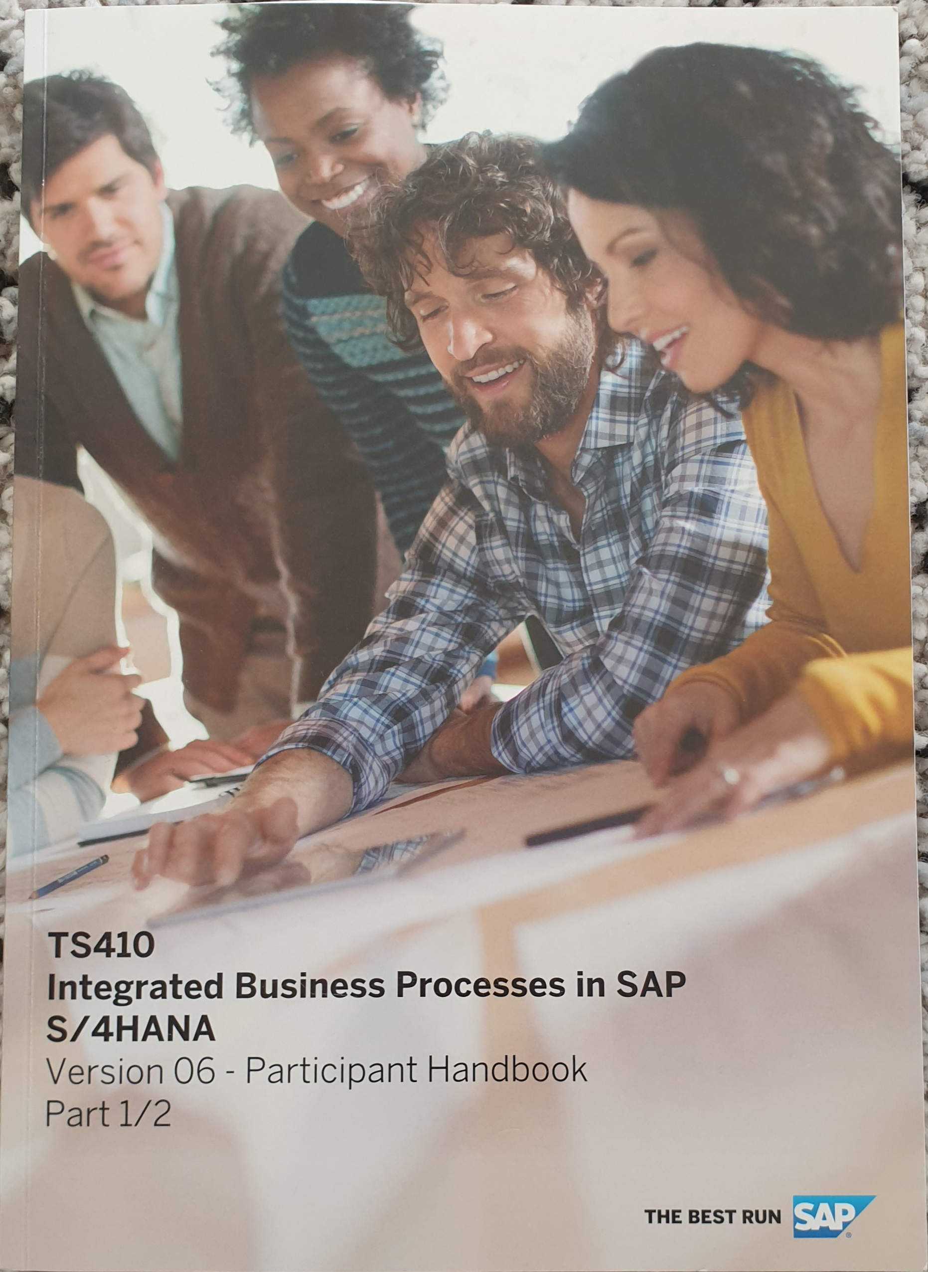 TS410 Integrated Business Processes in SAP S/4 Hana (#1-2)