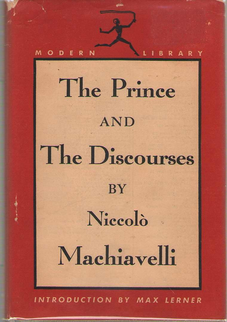 The Prince and the Discourses: Modern Library No. 65