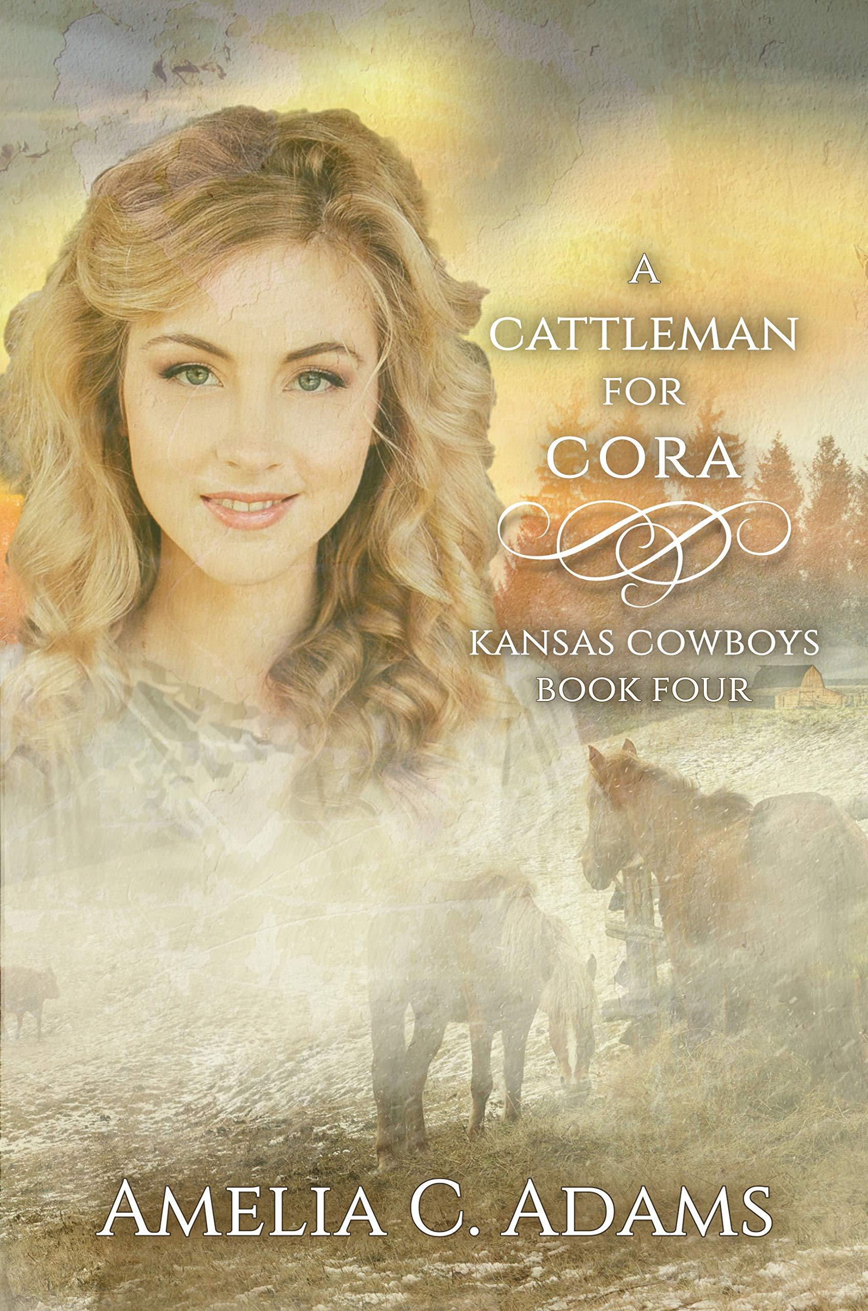 A Cattleman for Cora (Kansas Cowboys #4)
