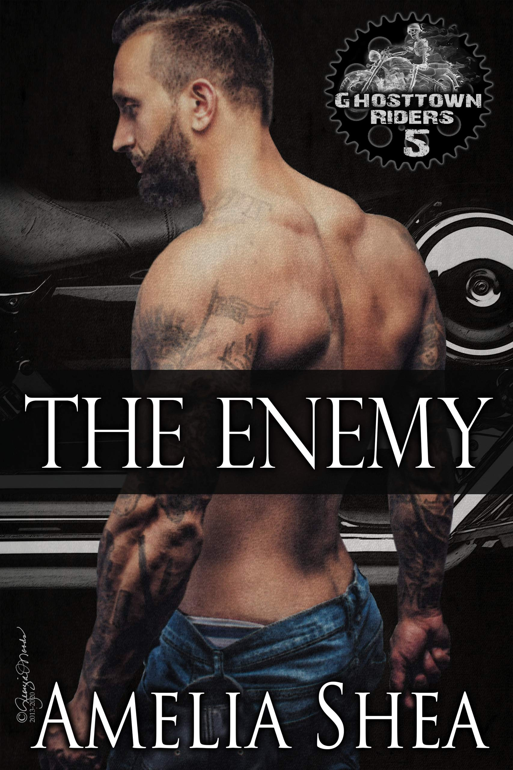 The Enemy (Ghosttown Riders Book 5)