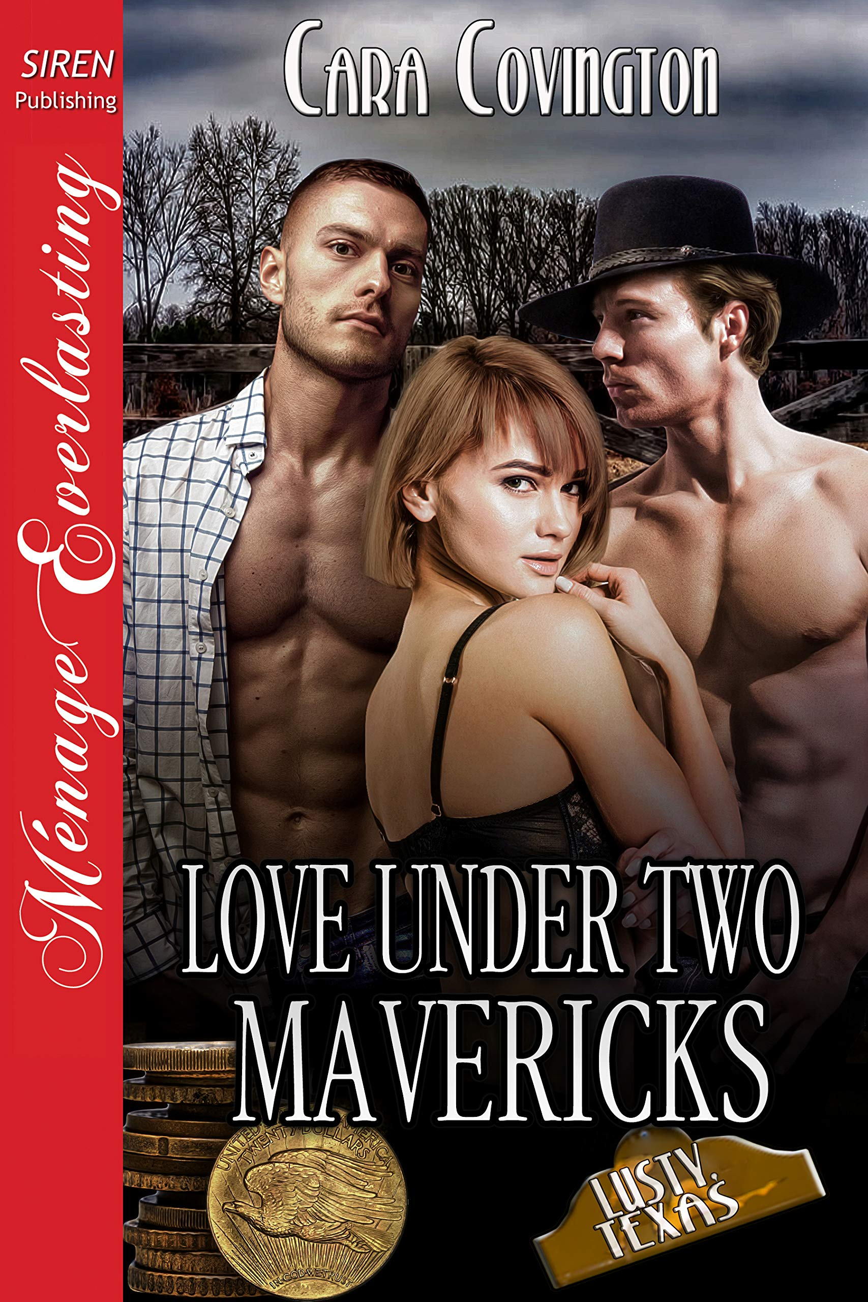 Love Under Two Mavericks [The Lusty, Texas Collection 39]