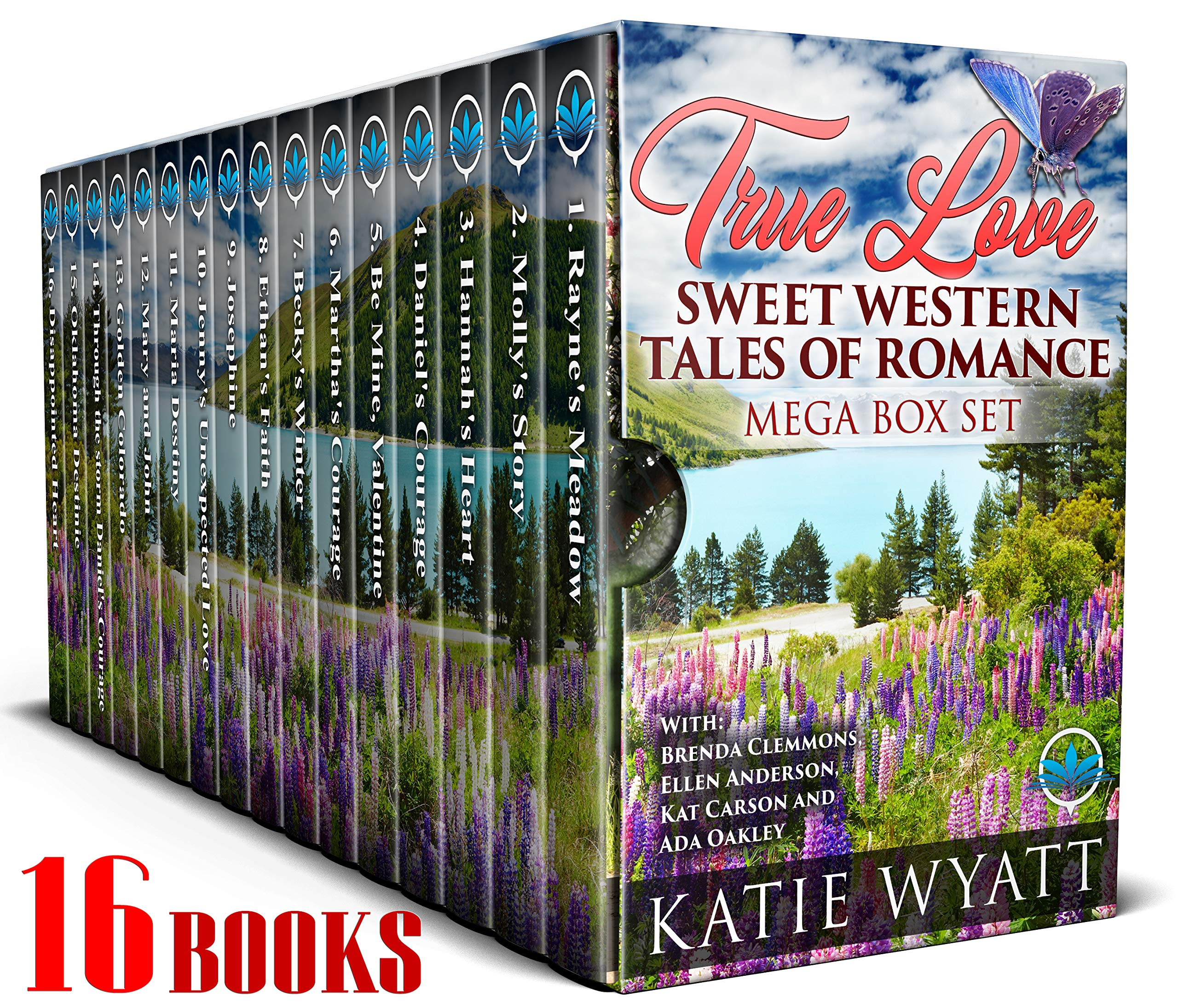 True Love Sweet Western Tales of Romance: 16 Books (Mega Box Set Series Book 15)