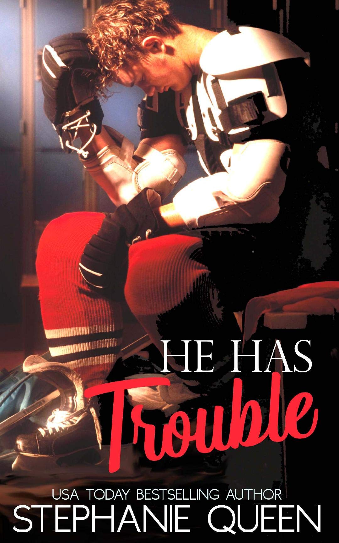 He Has Trouble (Boston Brawlers Hockey #0.5)