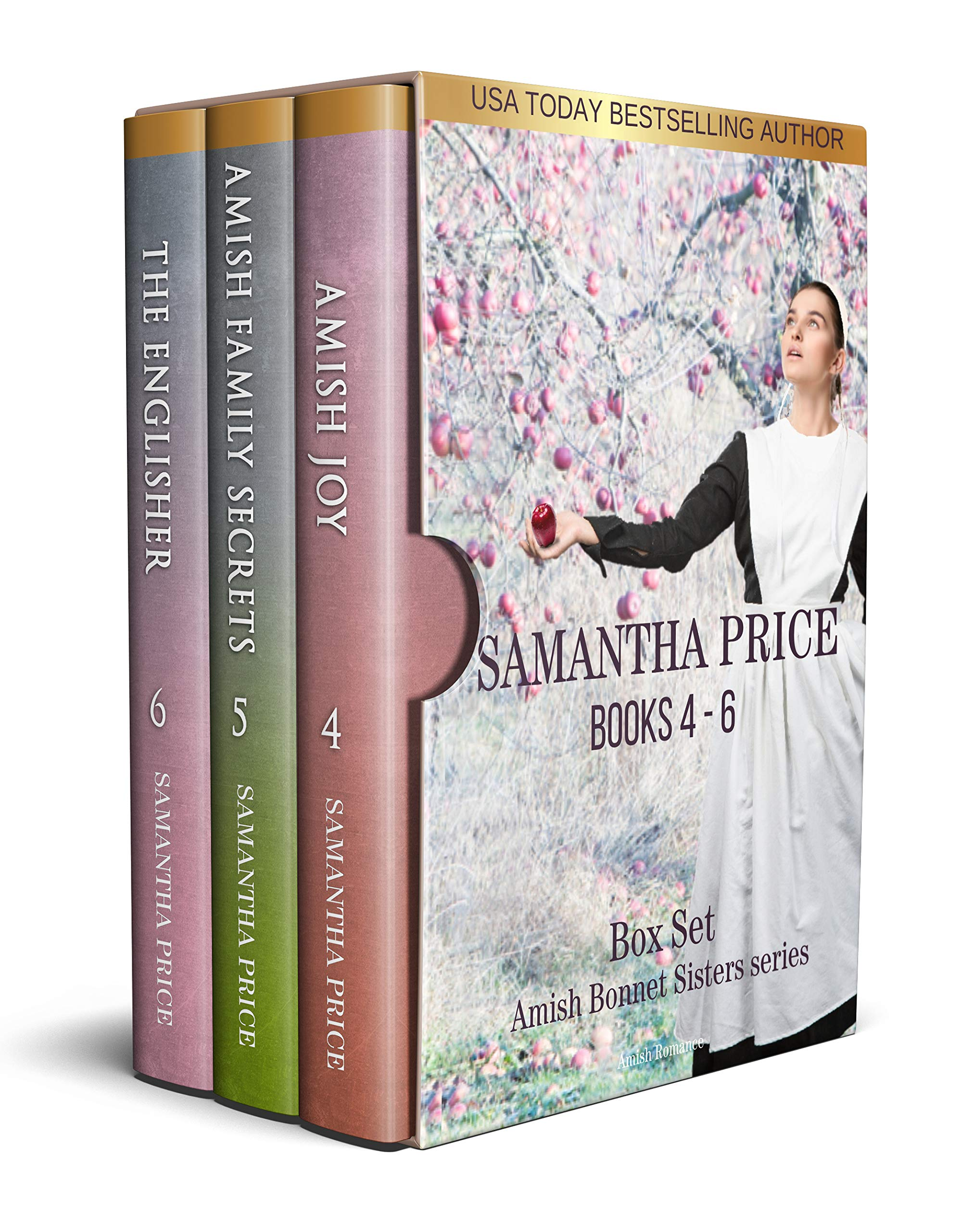 The Amish Bonnet Sisters Boxed Set: Books 4-6 (Amish Joy, Amish Family Secrets, The Englisher): Amish Romance (The Amish Bonnet Sisters Box Set Book 2)