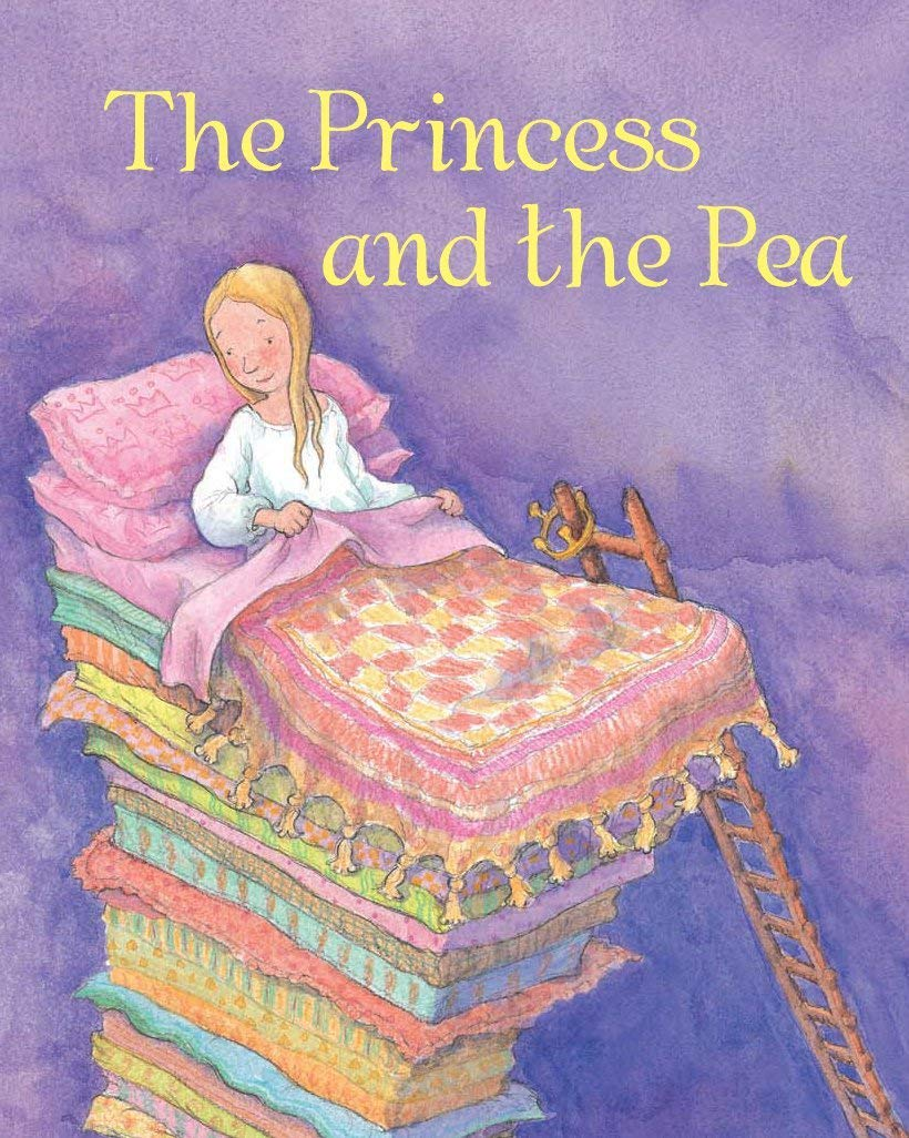 The Princess and the Pea: A Princess is given a bad night's sleep when a Queen puts a pea under her mattress!