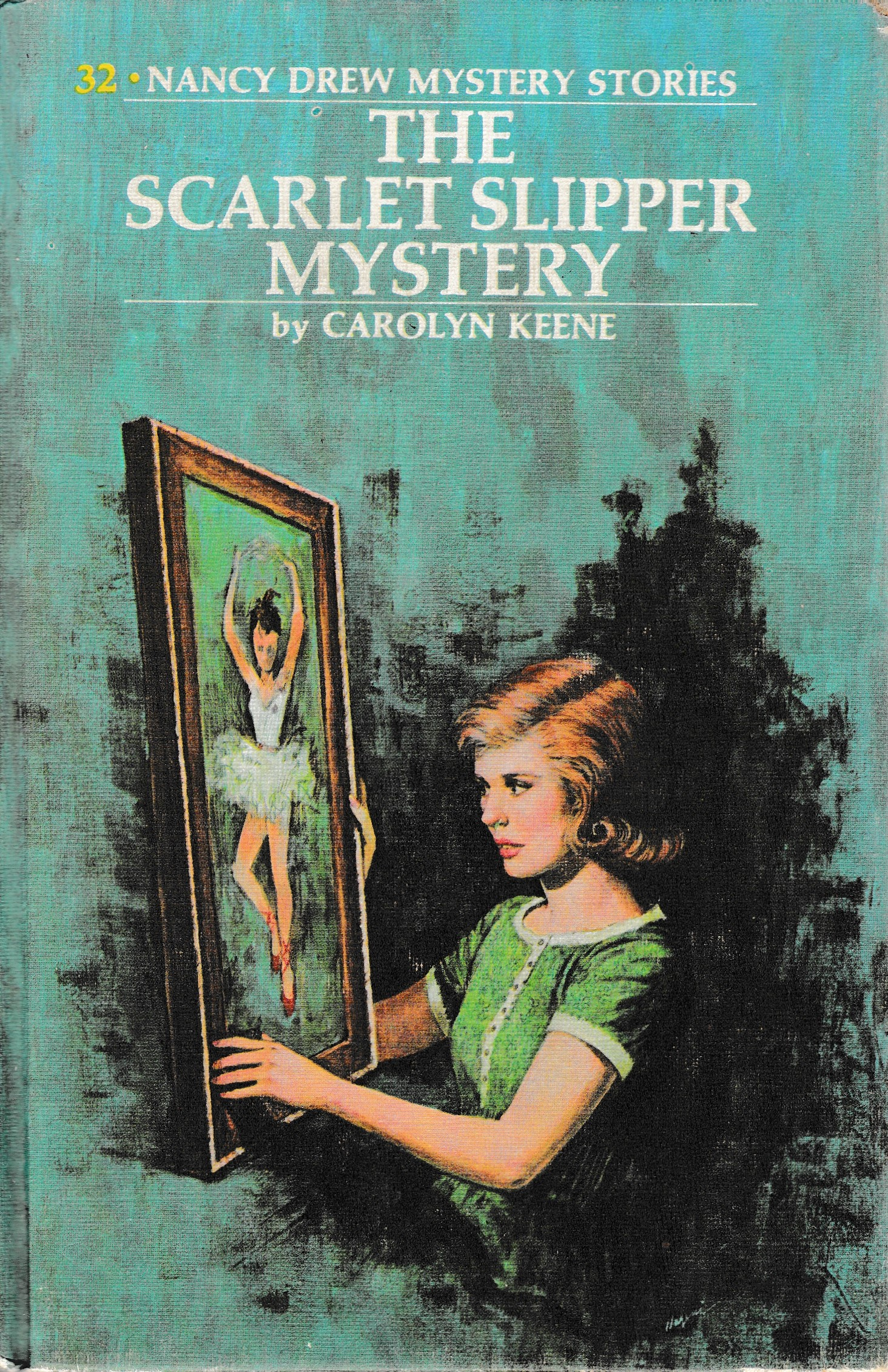 The Scarlet Slipper Mystery (Nancy Drew Mystery Stories, #32)