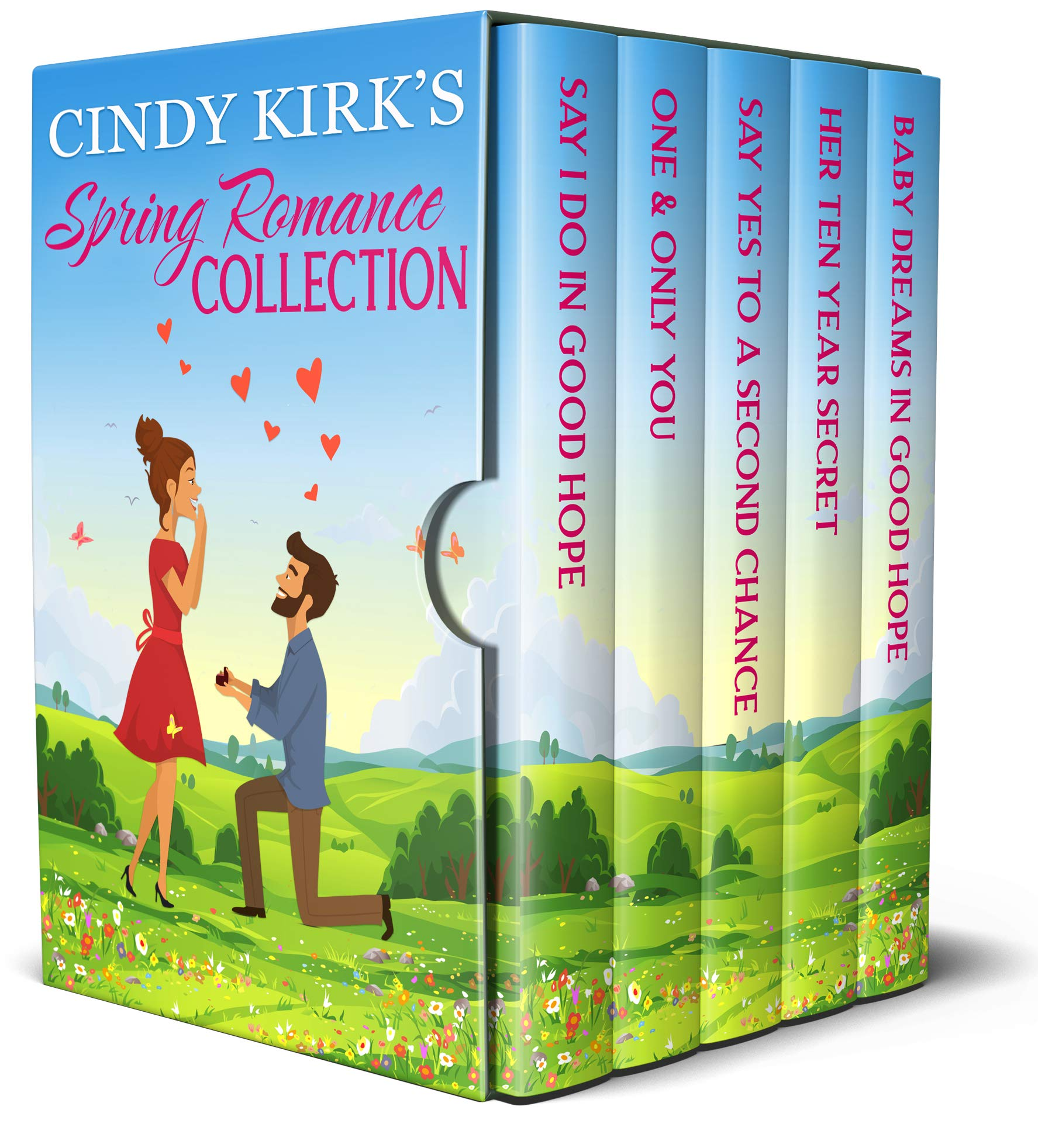 Cindy Kirk's Spring Romance Collection: An uplifting collection of heartwarming stories that will make you smile