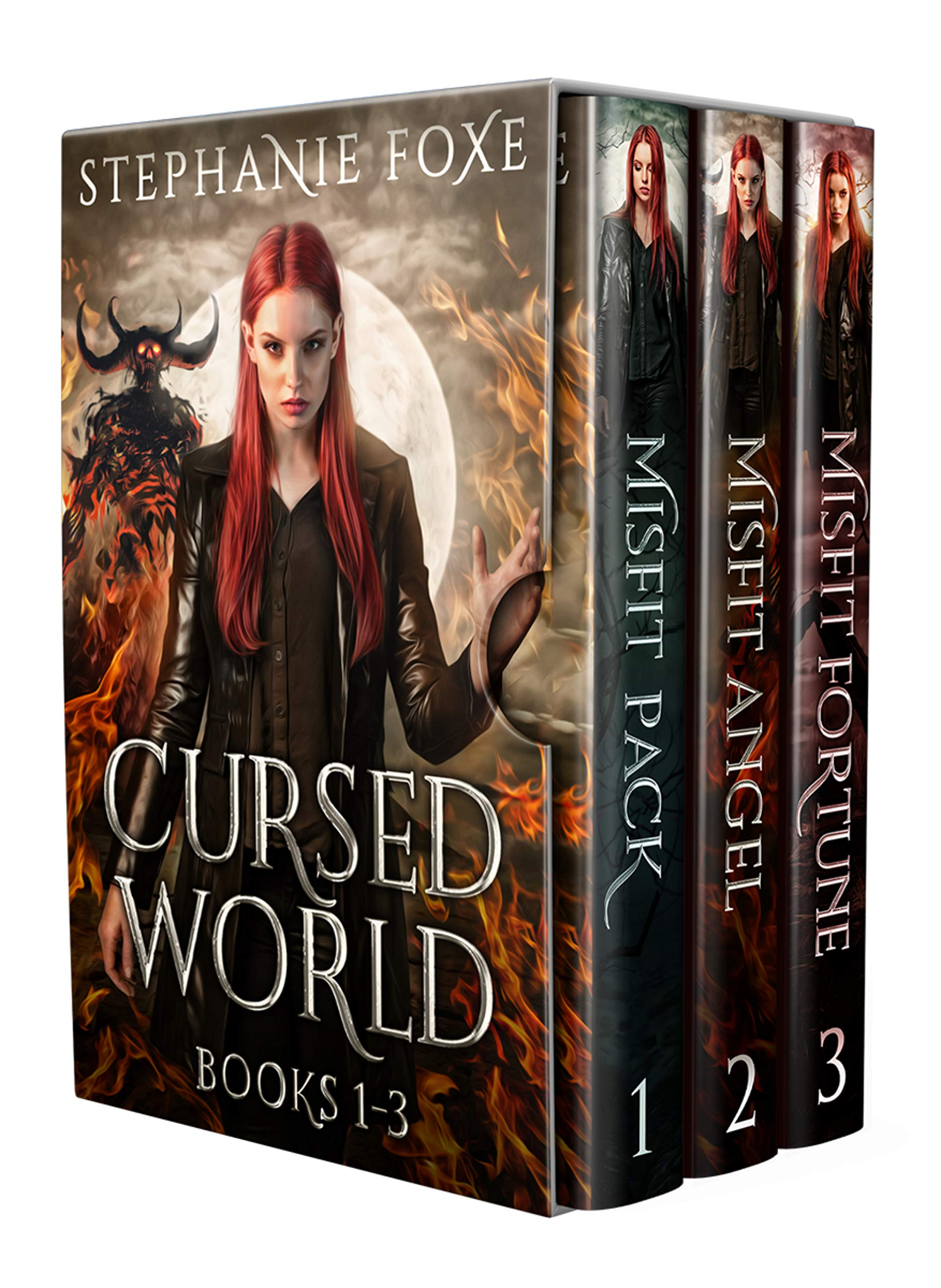 Cursed World Box Set: Books 1-3: An Urban Fantasy Series
