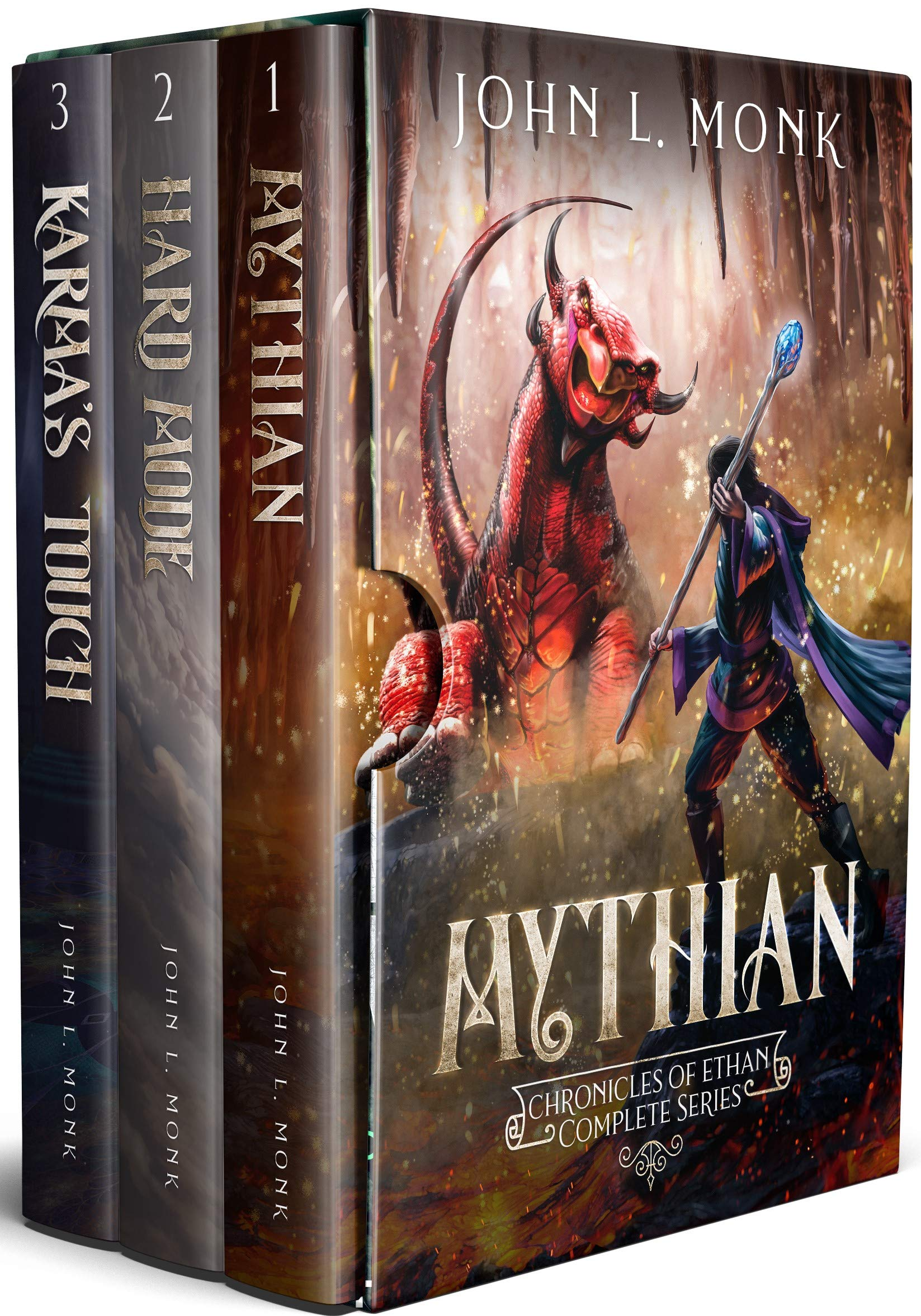 Chronicles of Ethan Complete Series: A LitRPG / GameLit Fantasy Adventure