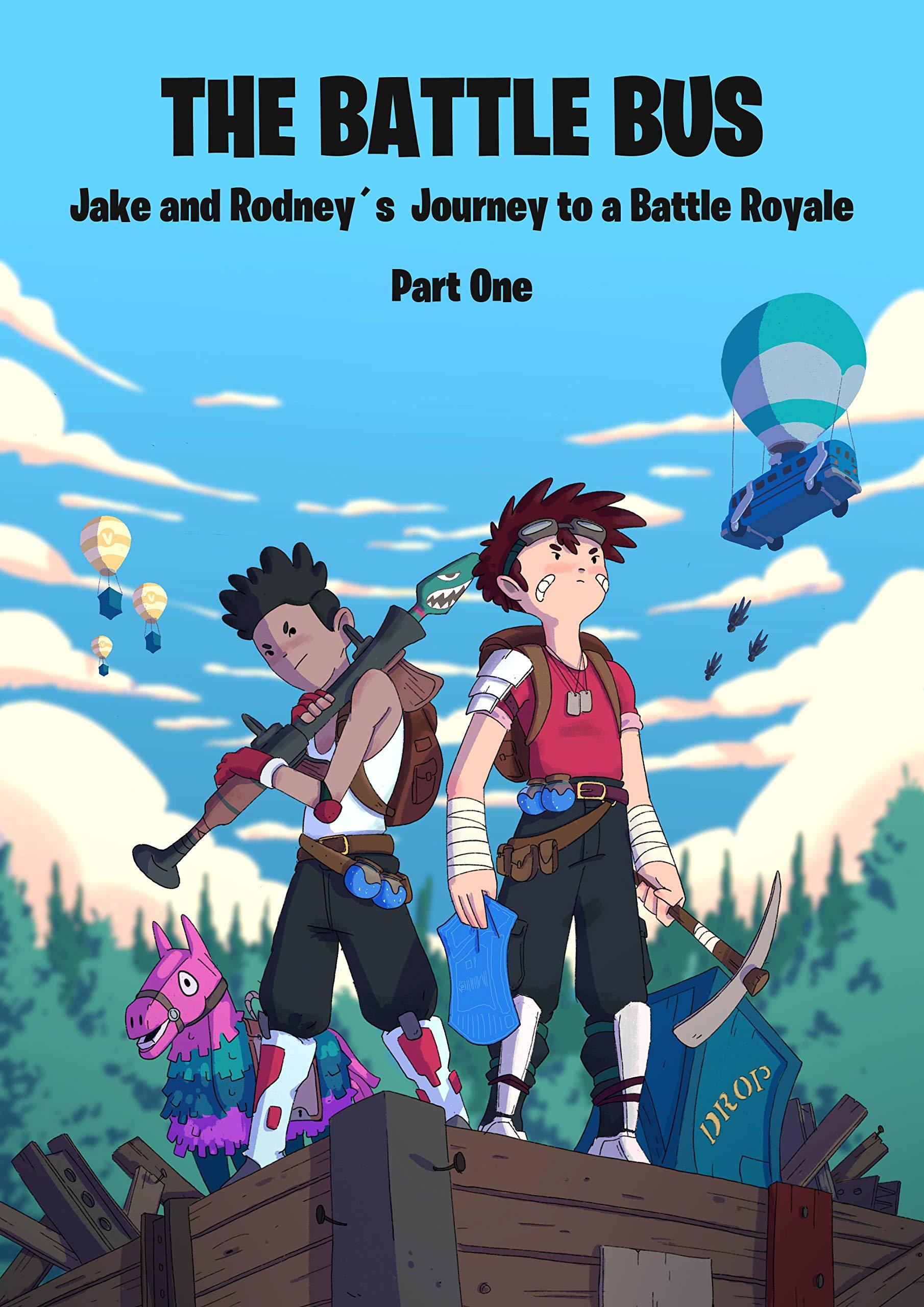 The Battle Bus: Jake and Rodney's Journey to a Battle Royale