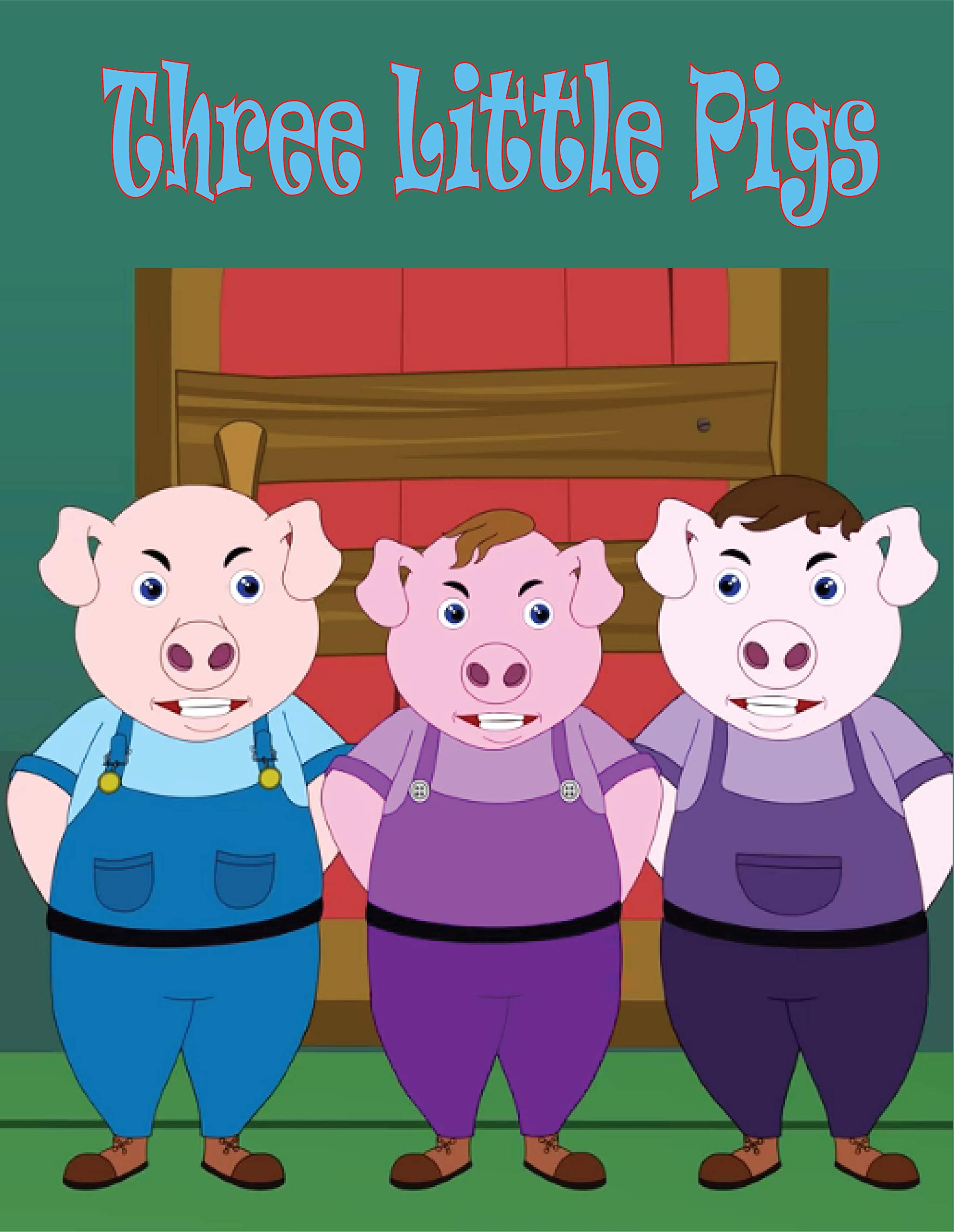 Three Little Pigs: Story | English Fairy Tales | Stories for kids
