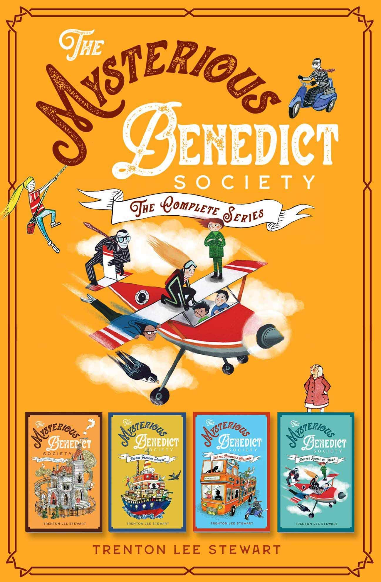 The Mysterious Benedict Society Complete Series (Books 1-4) ebook bundle