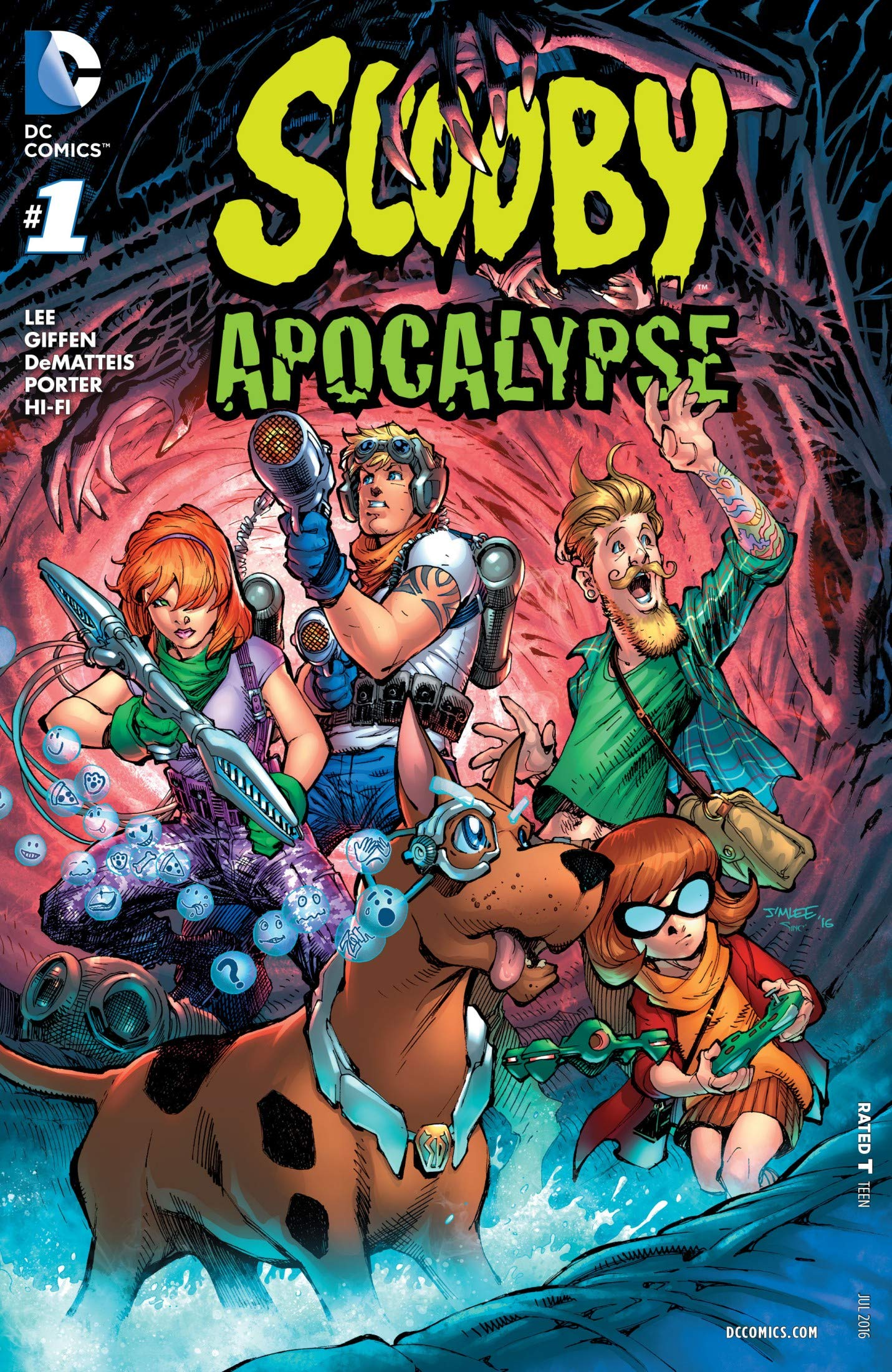 Scooby-Doo Apocalypse: Vol 1 Adventure Comics Books For Kids, Boys , Girls , Fans , Adults