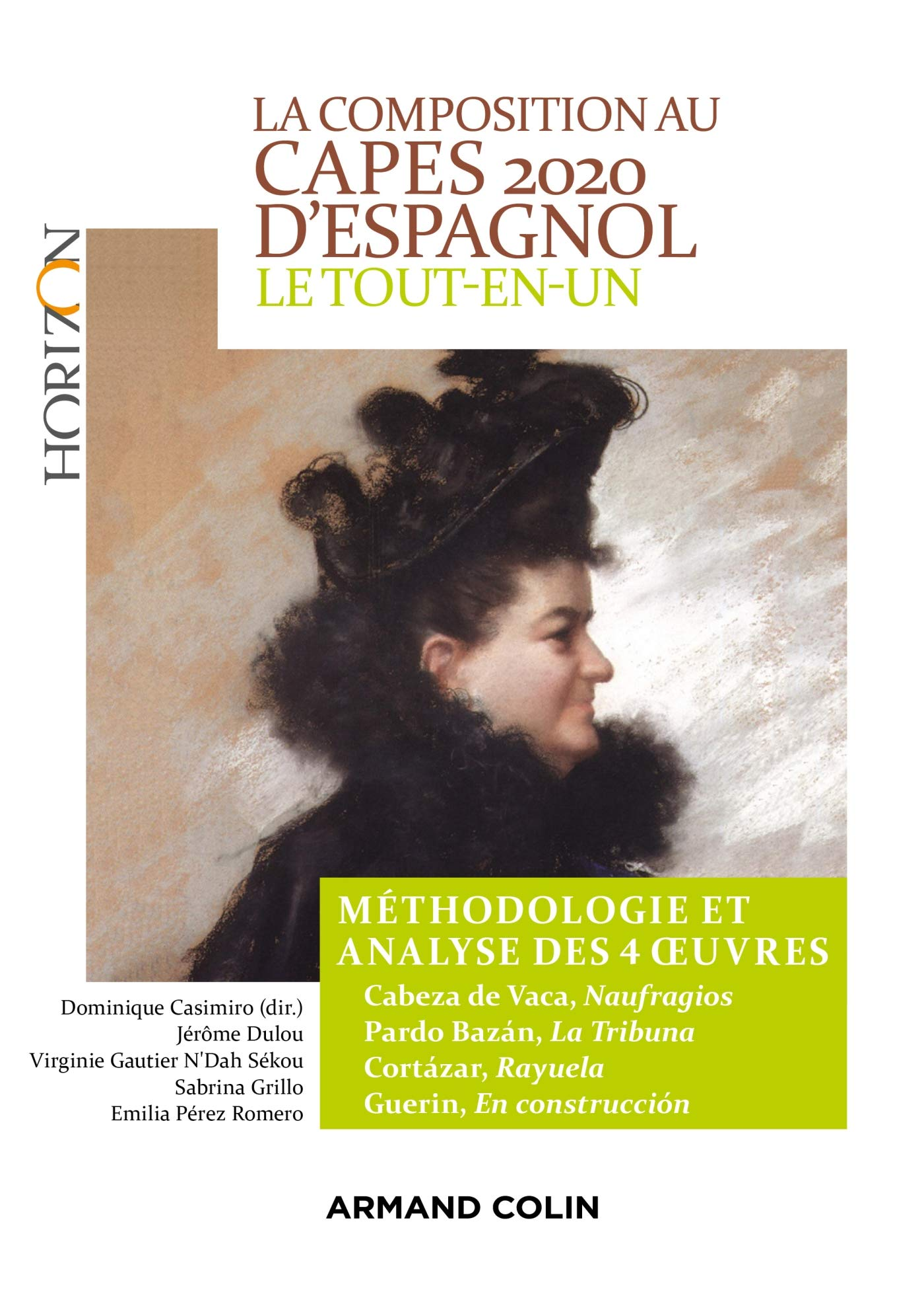 La composition au CAPES 2020 d'espagnol - Le tout-en-un : Méthodologie et analyse des 4 oeuvres