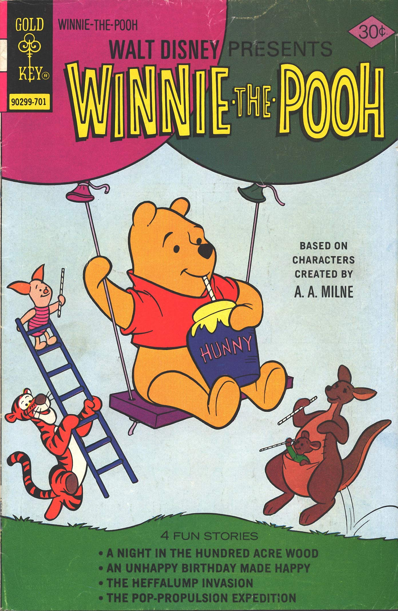 Winnie: The Pooh - Vol 1 Great Disney Cartoon Adventure Bear Comic Graphic Novels For Young & Teens , Adults Reader