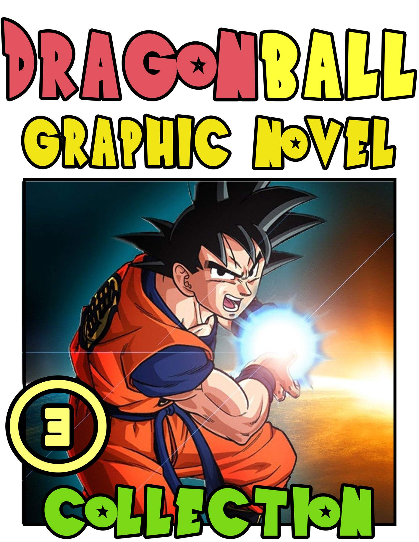 Dragon Graphic Novel Collection: Book 3 Includes Vol 5 -6 - Great Shounen Manga For Young & Teens , Adults, Dragon Goku Ball Fan