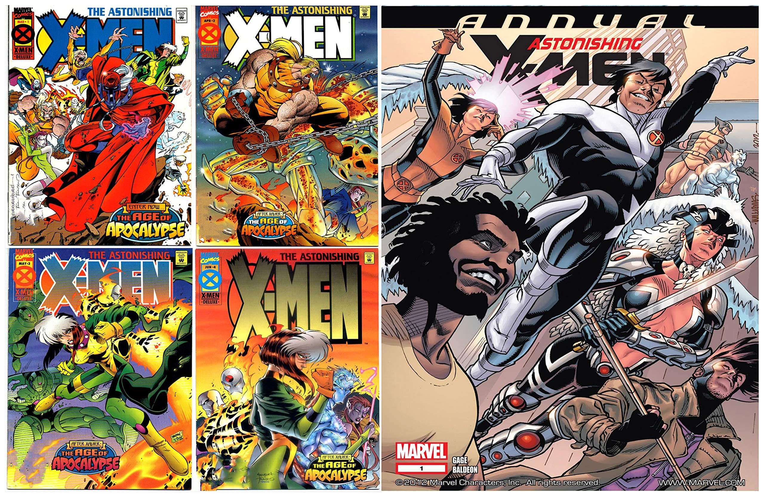 Astonishing X-Men (2004) Full Series: Annual 1